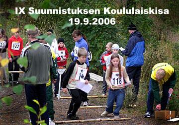 IX Suunnistuksen Koululaiskisa 19.9.2006