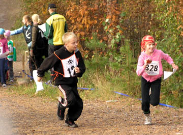 X Suunnistuksen Koululaiskisa 26.9.2007
